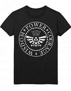 Hypeshirt T-Shirt The Legend of Zelda Wisdom Power Courage C112245 de la marque Hypeshirt image 0 produit