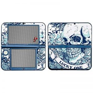 "Nintendo New 3DS XL Design Skin ""Blue Smile"" Autocollant Sticker pour New 3DS XL (2015) de la marque Designfolien@FoliX image 0 produit"