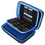 AUSTOR Housse pour Nintendo Nouveau 3DS XL, 3DS, Noir / Blue de la marque AUSTOR image 3 produit