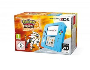Console Nintendo 2DS : bleu + Pokémon Soleil Préinstallé - édition speciale de la marque Nintendo image 0 produit