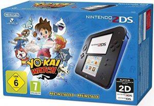 Console Nintendo 2DS - noir/bleu + Yo-Kai Watch Préinstallé de la marque Nintendo image 0 produit