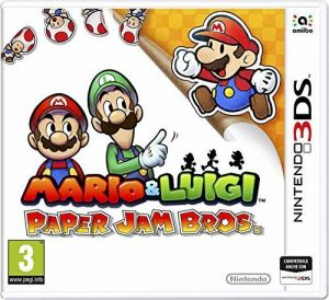 Mario Luigi Paper Jam Bros [3DS] Import Italien Jouable en Francais Platform 3DS - Publisher Nintendo de la marque NINTENDO image 0 produit