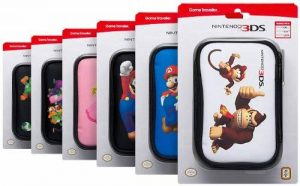 NDS805 - Sacoche Mario game traveller - - pour nintendo DS Lite/ DSi / 3DS-Coloris assortis de la marque Bigben image 0 produit