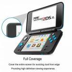 Nintendo 2DS XL Protection écran [2 x Verre Supérieur + 2 x Verre Inférieur], CAVN HD Verre Trempé pour Nintendo 2DS XL, [Dureté 9H] [Très Réactif] [Résistant Aux Rayures] [Couverture Complète] de la marque CAVN image 2 produit