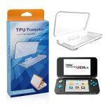 TUTUO Protecteur D'écran pour Nouvelle Nintendo 2DS XL 2017 Film Protecteur HD Haute Définition Ultra-Transparent sans Bulles Anti-Fingerprint (TPU) de la marque TUTUO image 4 produit